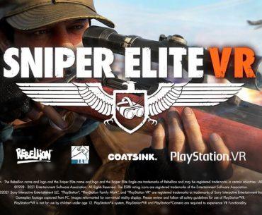 Arte de Sniper Elite VR: