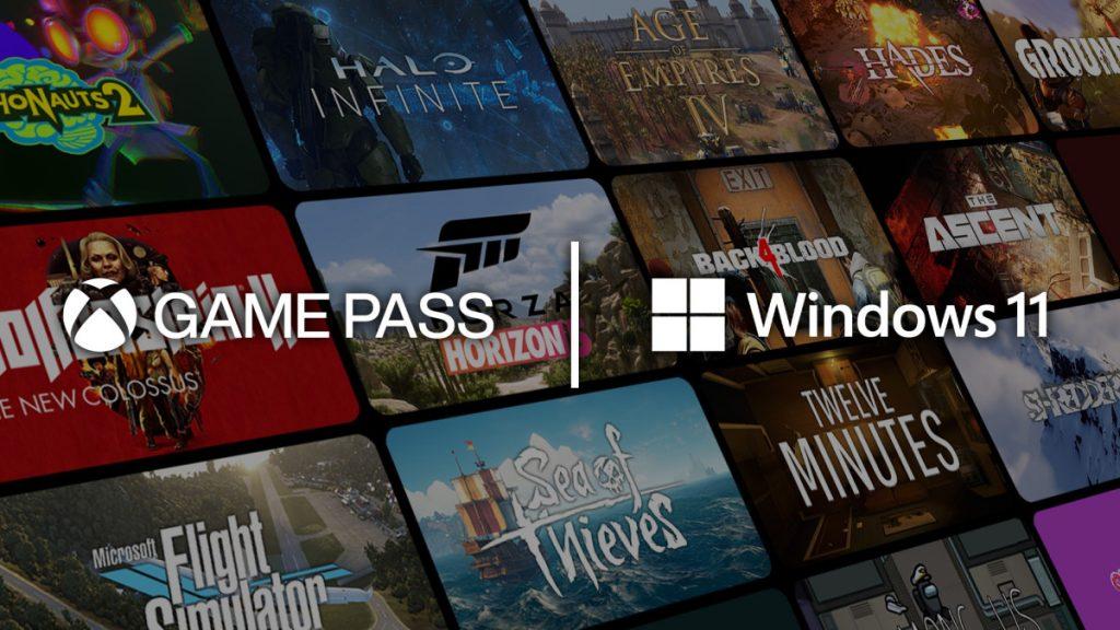 Game Pass en Windows 11.