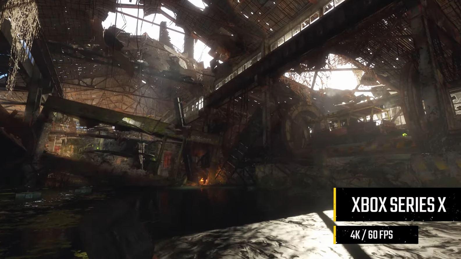Metro Exodus en Xbox Series X..