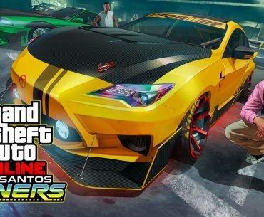 Arte de GTA Online.
