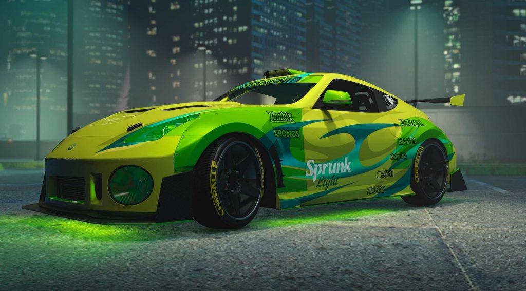 Auto de GTA Online.