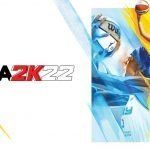 Arte de NBA 2K22 con Candance Parker.