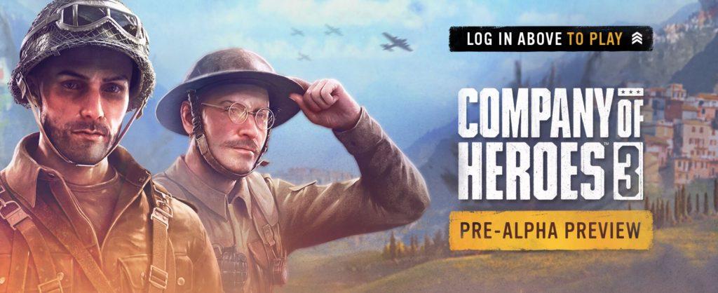 Alfa de Company of Heroes 3.