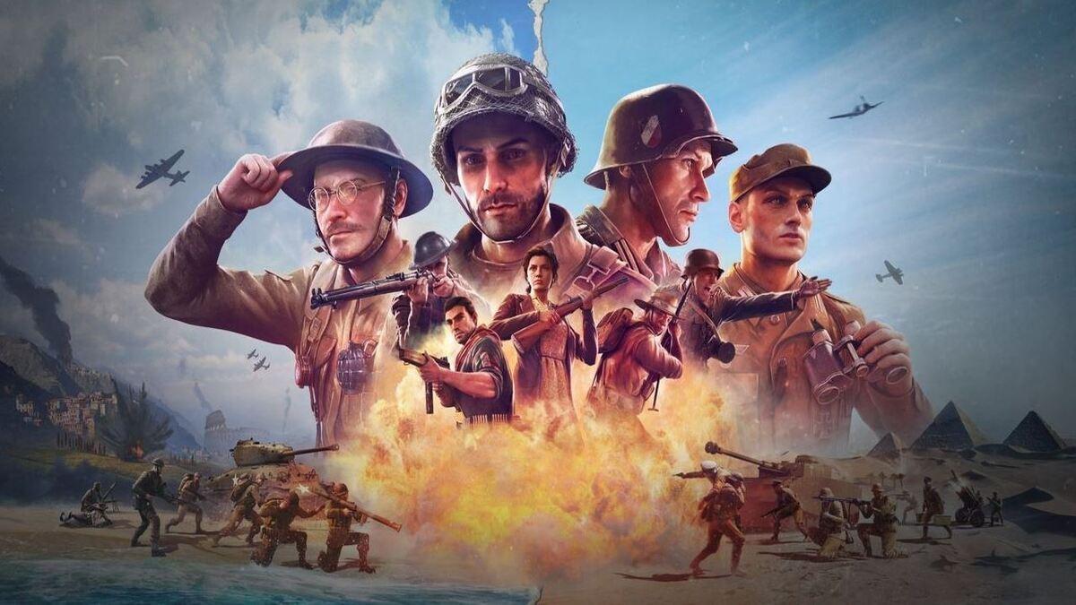 Arte de Company of Heroes 3.