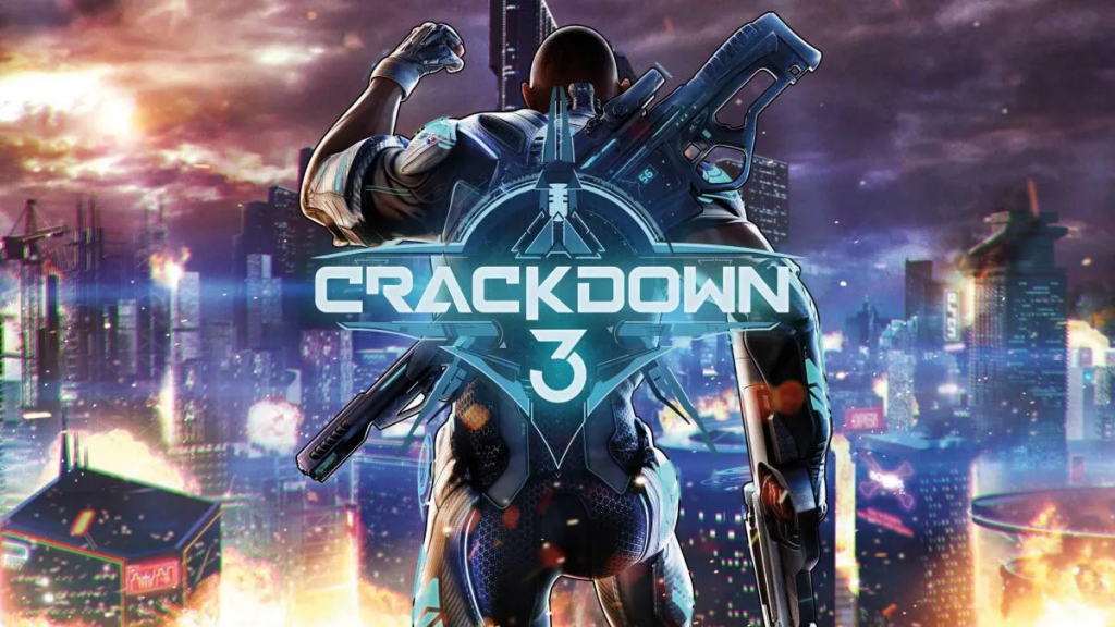 Arte de Crackdown 3.