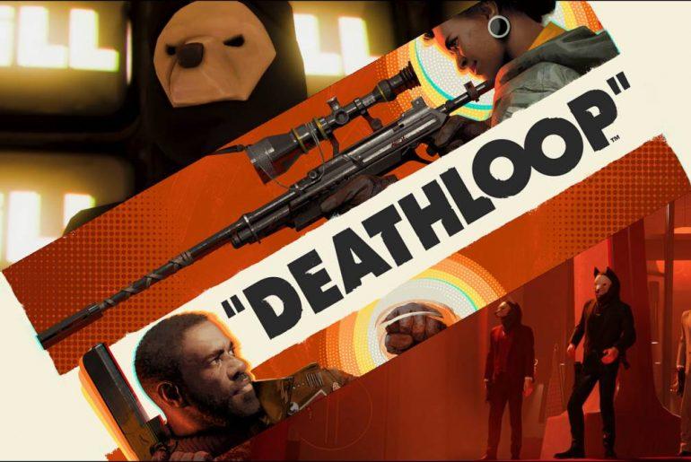 Arte de Deathloop.