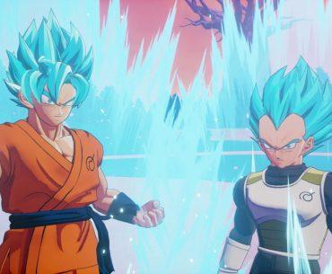Goku y Vegeta Ultrainstinto.