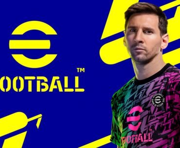 Messi en eFootball.