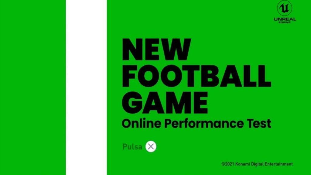 Beta de eFootball PES 2022.