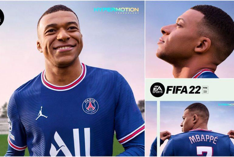 Mbappé en FIFA 22.