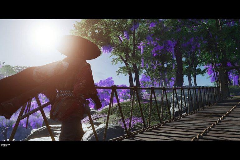 Tráiler de Ghost of Tsushima en PS5.