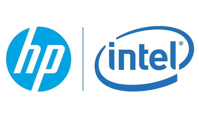 Logo de Intel y HP.