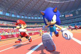 Sonic y Mario.