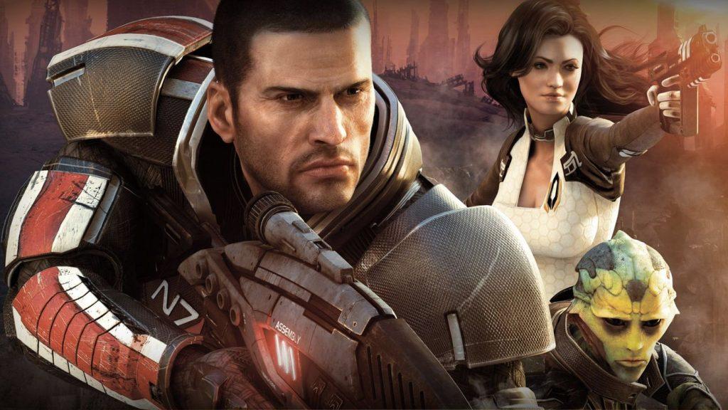 Arte de Mass Effect.