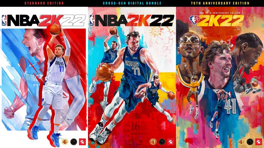 Portadas NBA 2K22.