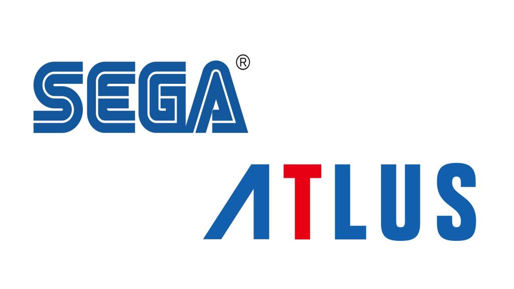 Logo de SEGA y Atlus.