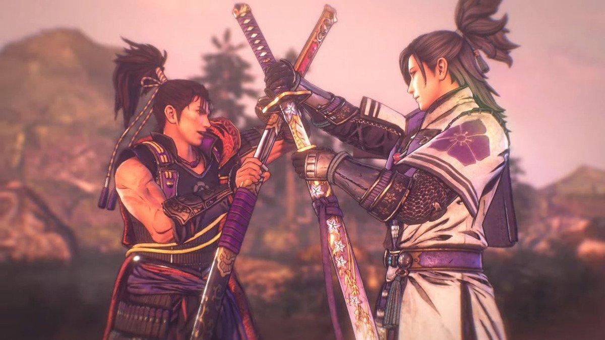 Personajes de Samurai Warriors 5.