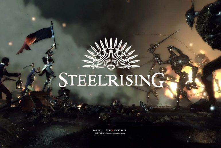 Arte de Steelrising.
