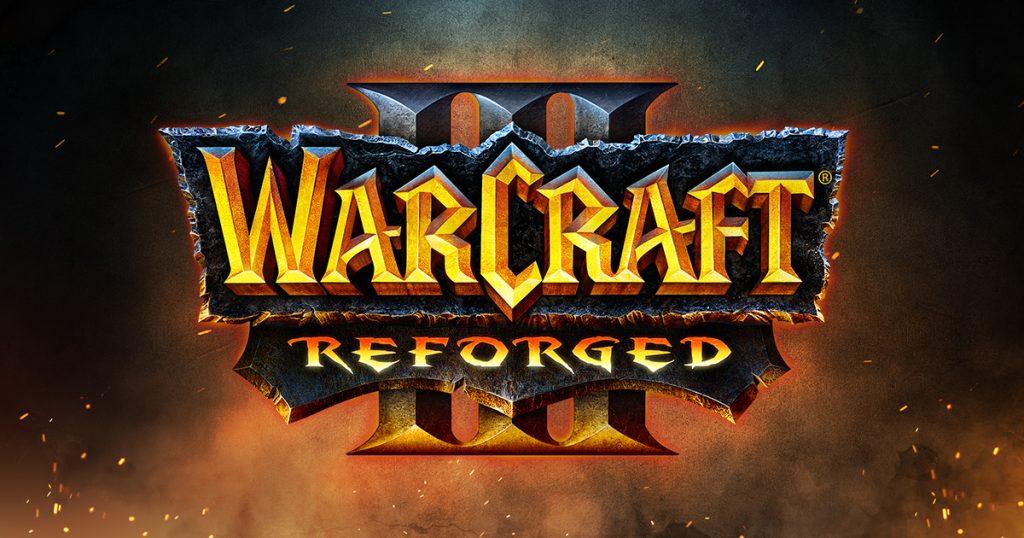 Logo de Warcraft III: Reforged.