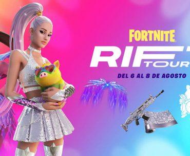 Arte de Ariana Grande en Fortnite.