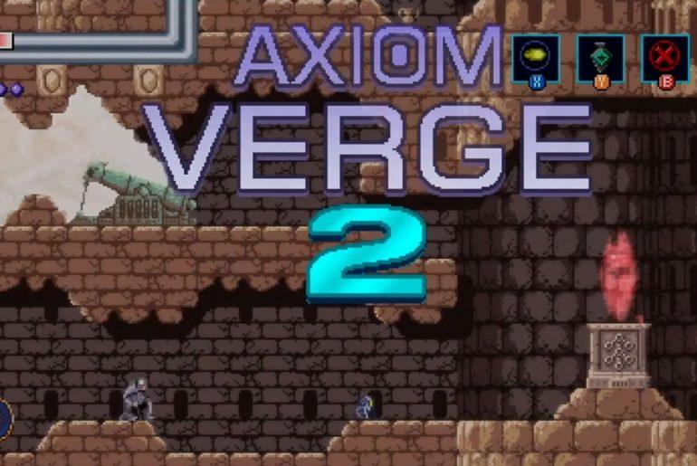 Arte de Axion Verge.