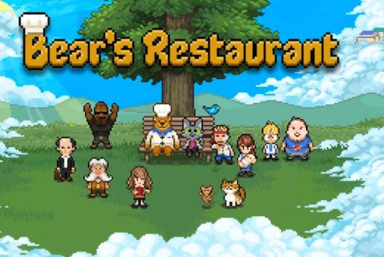 Arte de Bear's Restaurant.