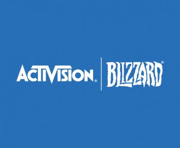 Logo de Activision Blizzard.