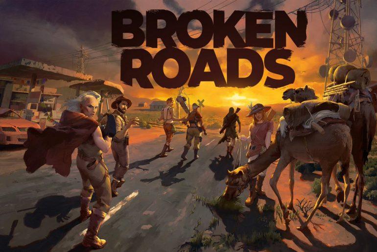 Arte de Broken Roads.