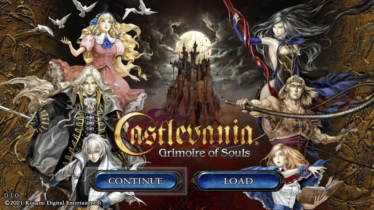 Arte de Castlevania: Grimoire of Souls.