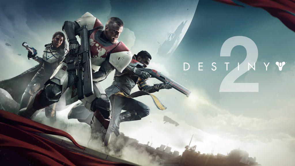 Arte de Destiny 2..