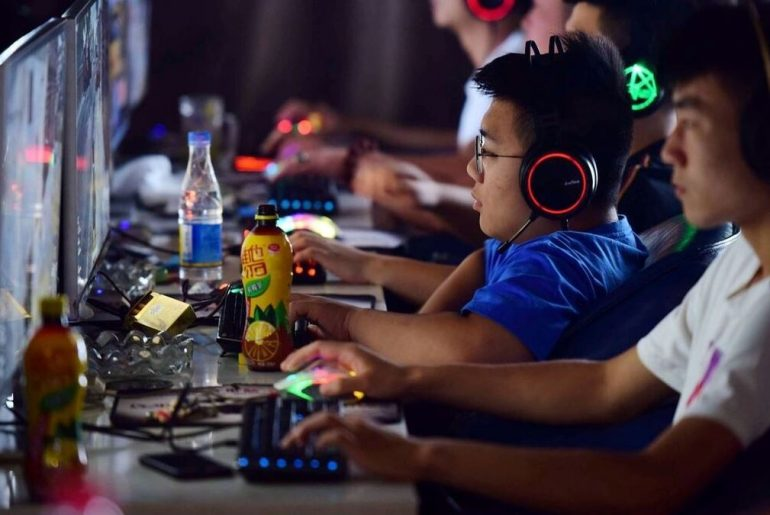 Jugadores chinos.