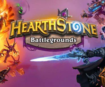 Arte de Hearthstone: Battlegrounds.