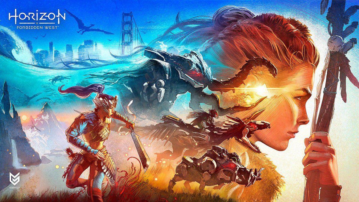 Arte de Horizon Forbidden West.