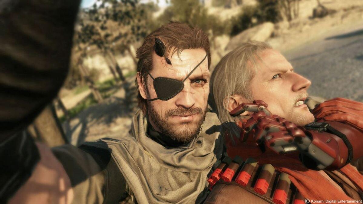Snake de Metal Gear V.