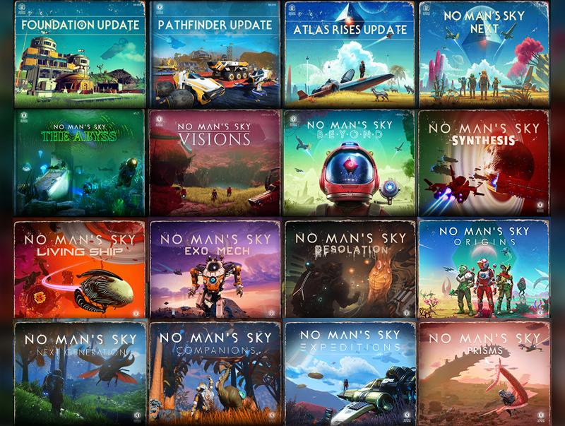 Expansions de No Man's Sky.