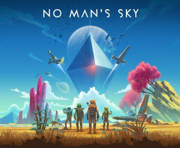 Artes de No Man's Sky.