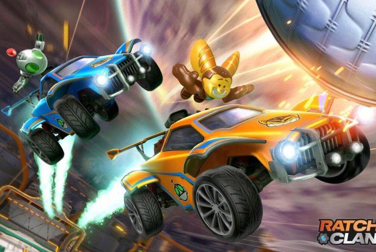 Ratchet & Clank en Rocket League.