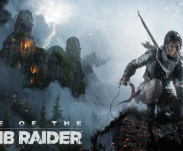 Arte de Rise of the Tomb Raider.