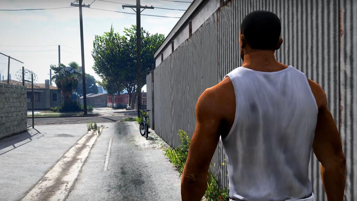 CJ de GTA San Andreas (cortesía XXII)