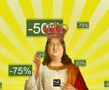 Meme de Gabe Newell.
