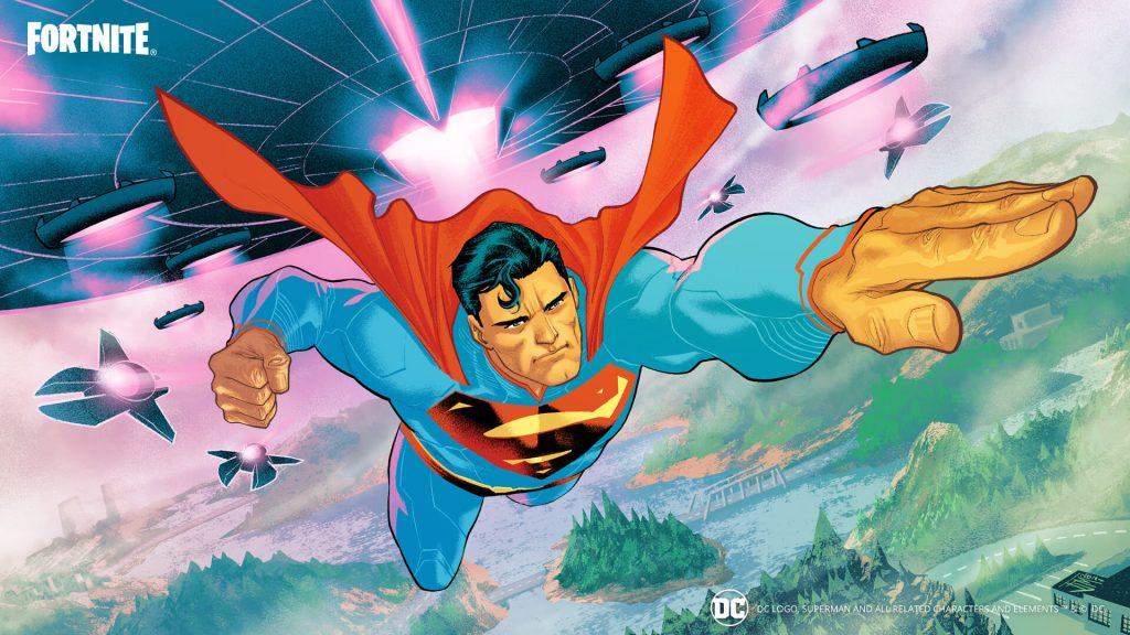 Pantalla de carga de Superman.